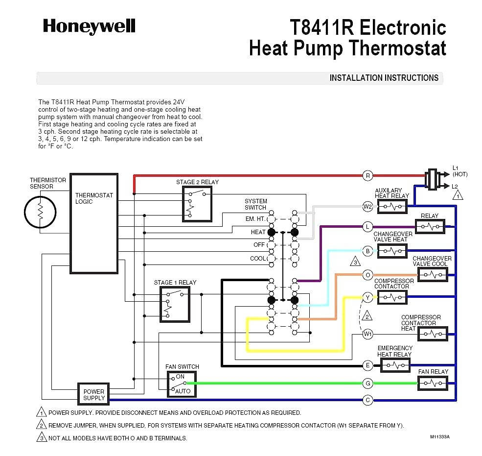 2 Stage Heat Thermostat Wiring Diagram Free Picture | Manual E-Books - Weatherking Heat Pump Wiring Diagram For Nest 2