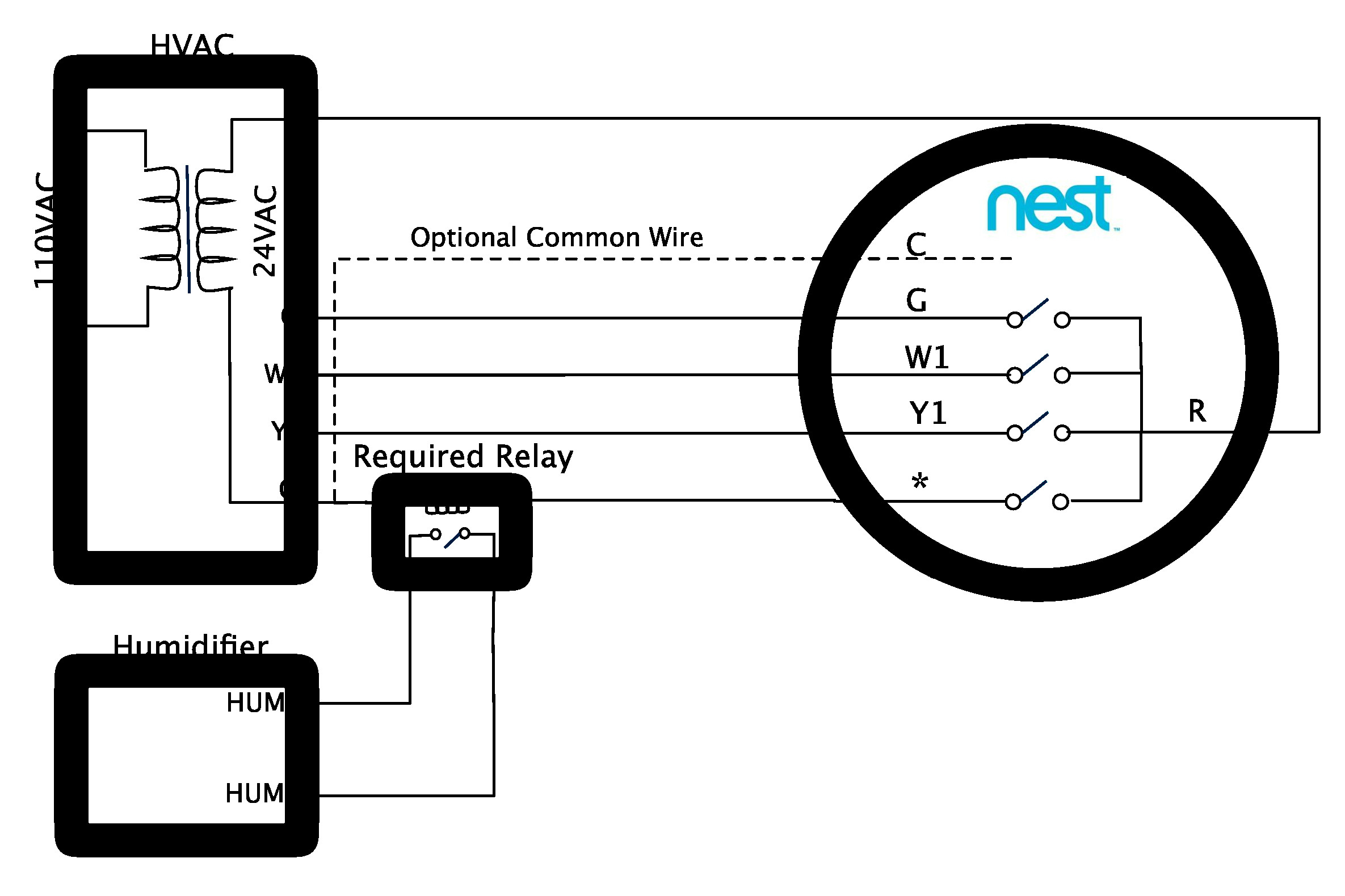 Nest Wiring Diagram With Heat Pump