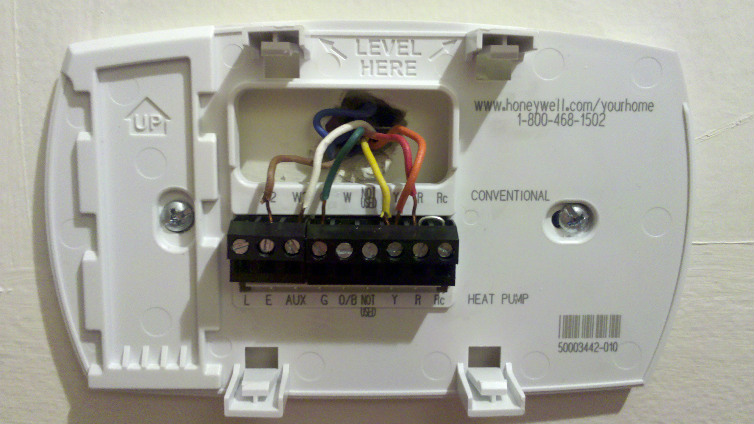 7 Wire Thermostat Diagram | Wiring Diagram - Honeywell Heat Pump Nest Thermostat Wiring Diagram
