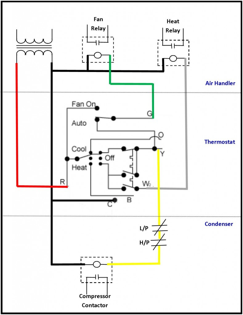 Ac Thermostat Wiring Diagrams | Wiring Diagram - Nest Thermostat Wiring Diagram York