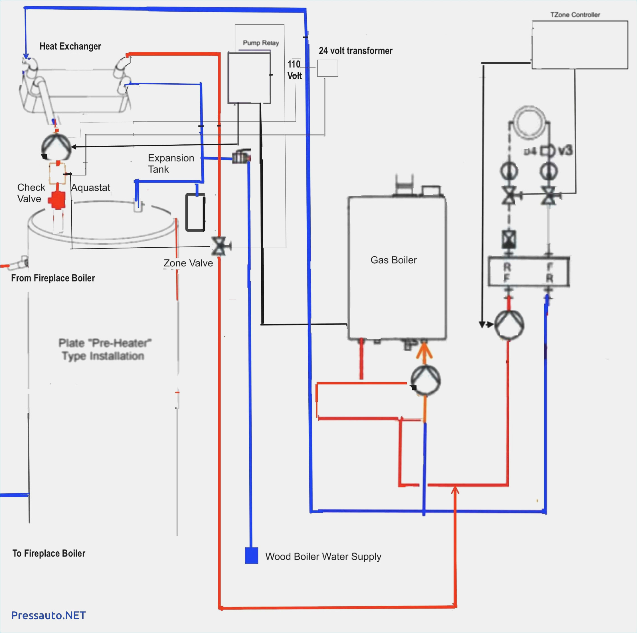 Boiler Control Wiring Diagram Honeywell 8124 - Online Wiring Diagram - Nest Wiring Diagram From 8124 Aquastat And 24V Transformer