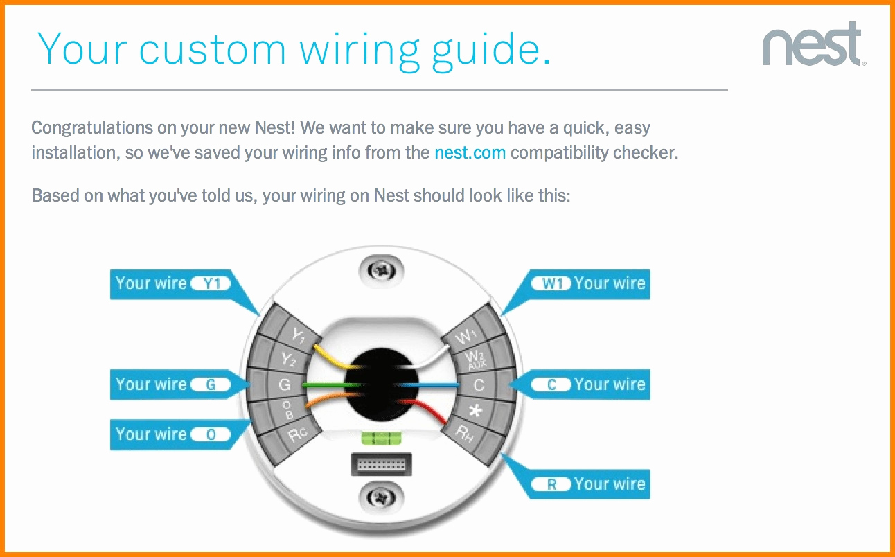 Branchement Thermostat Nest Élégant Stepstep How To Install The - Wiring Diagram For A Nest Thermostat