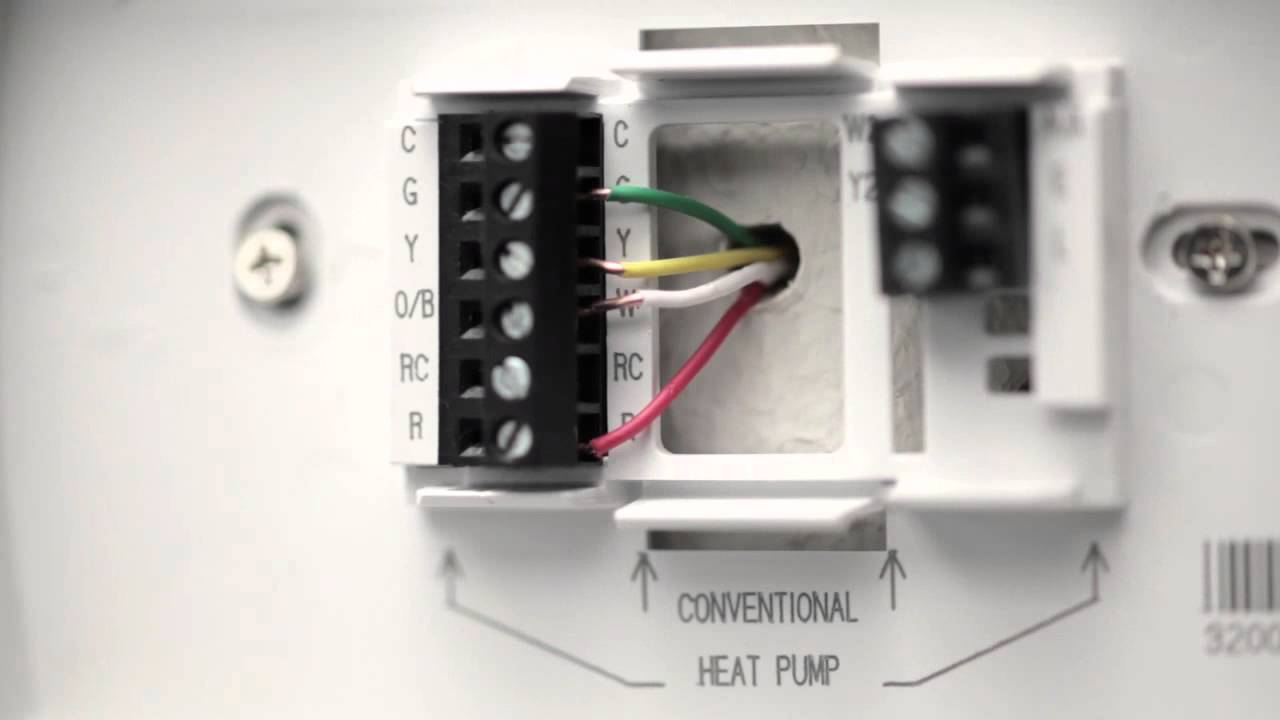 Youtube Nest Thermostat Wiring Diagram | Nest Wiring Diagram