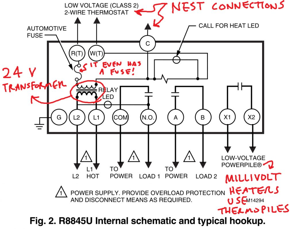 Controlling An Ancient Millivolt Heater With A Nest