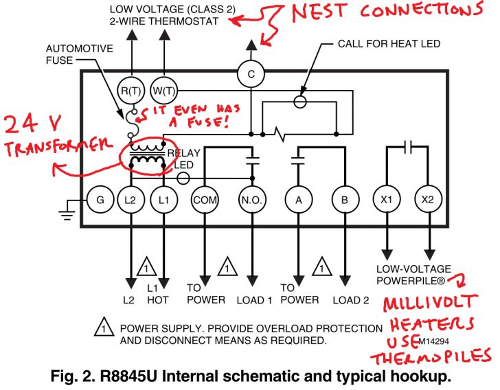 Nest Wiring Diagram To Modulating Boiler