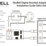 Do I Need A Digital Doorbell Adapter? How Do I Install It? – Skybell   Wiring Diagram For The Transformer For The Transformer For A Nest Doorbell