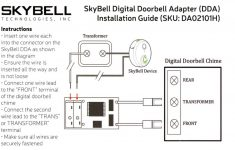 Wiring Diagram For The Transformer For The Transformer For A Nest Doorbell