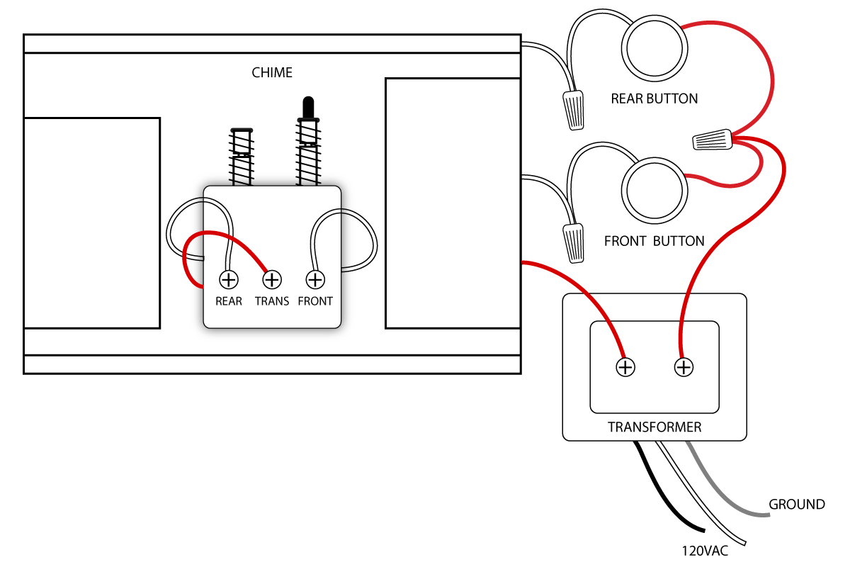Door Bell Diagram - Data Wiring Diagram Detailed