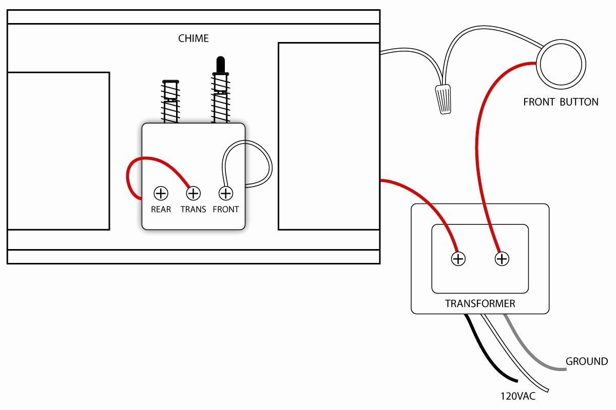 doorbell camera wiring diagram