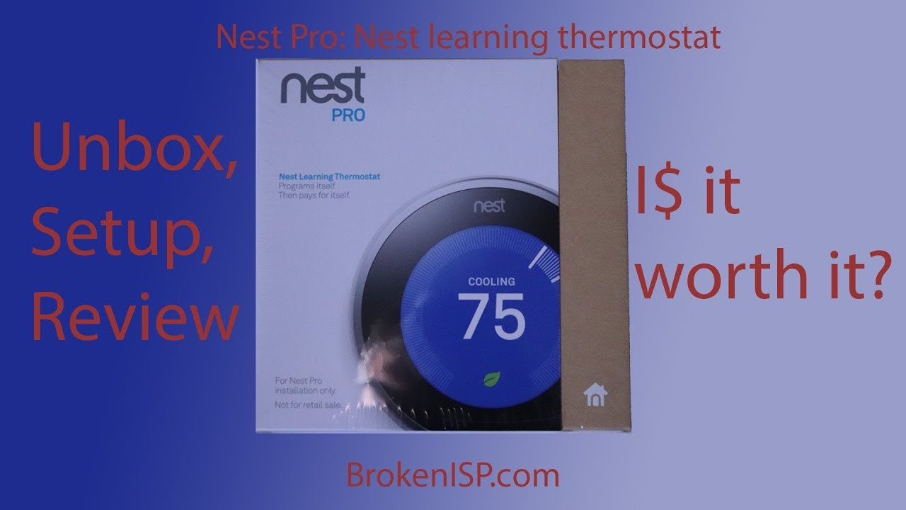 ♻ Is It Worth It? Nest Pro 3Rd Generation Unbox, Setup - Nest Wiring Diagram G1 G2 G3