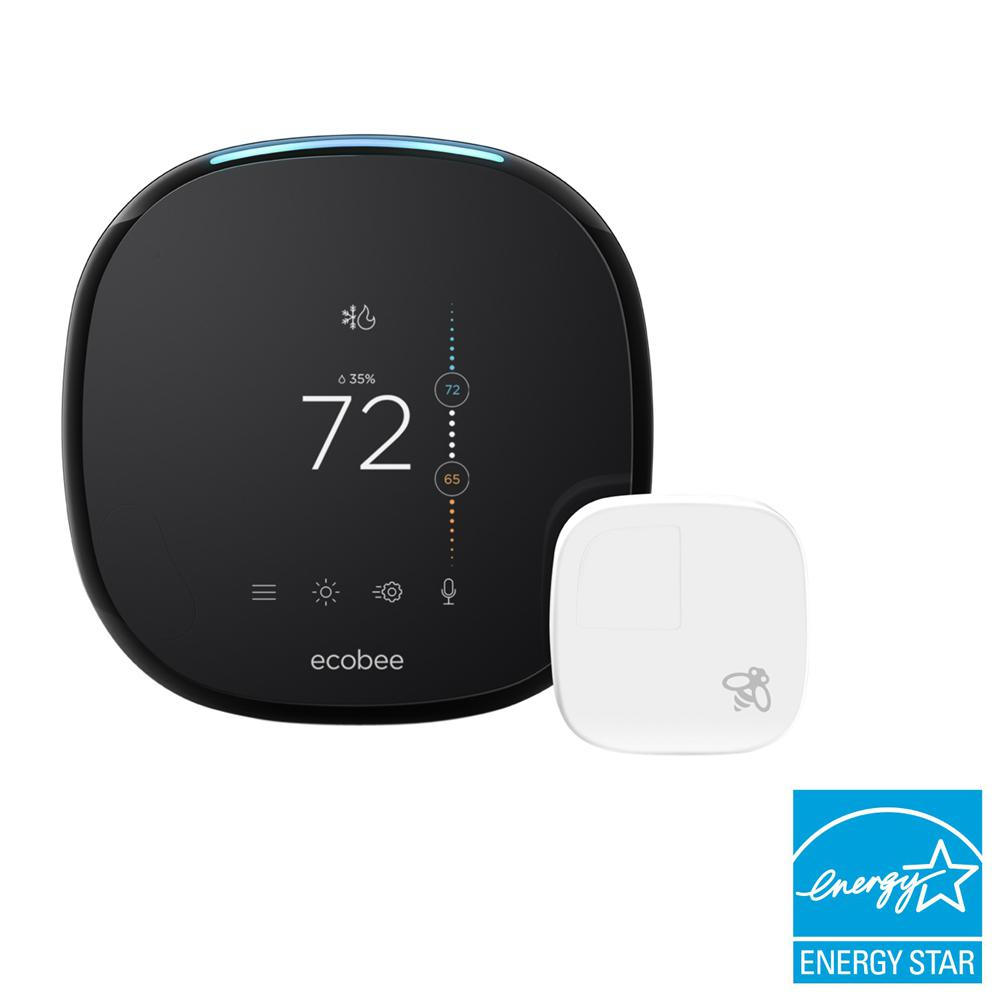 Ecobee 4 Smart Thermostat With Room Sensor And Built-In Amazon Alexa - Wiring Diagram For Nest 3Dd Gen Variable Furnace