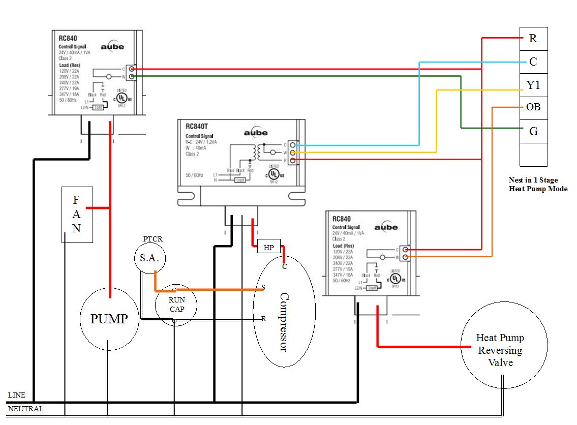 Electrical - Using Nest To Control Water Cooled A/c With Reverse - Nest Wiring Diagram Variable Speed