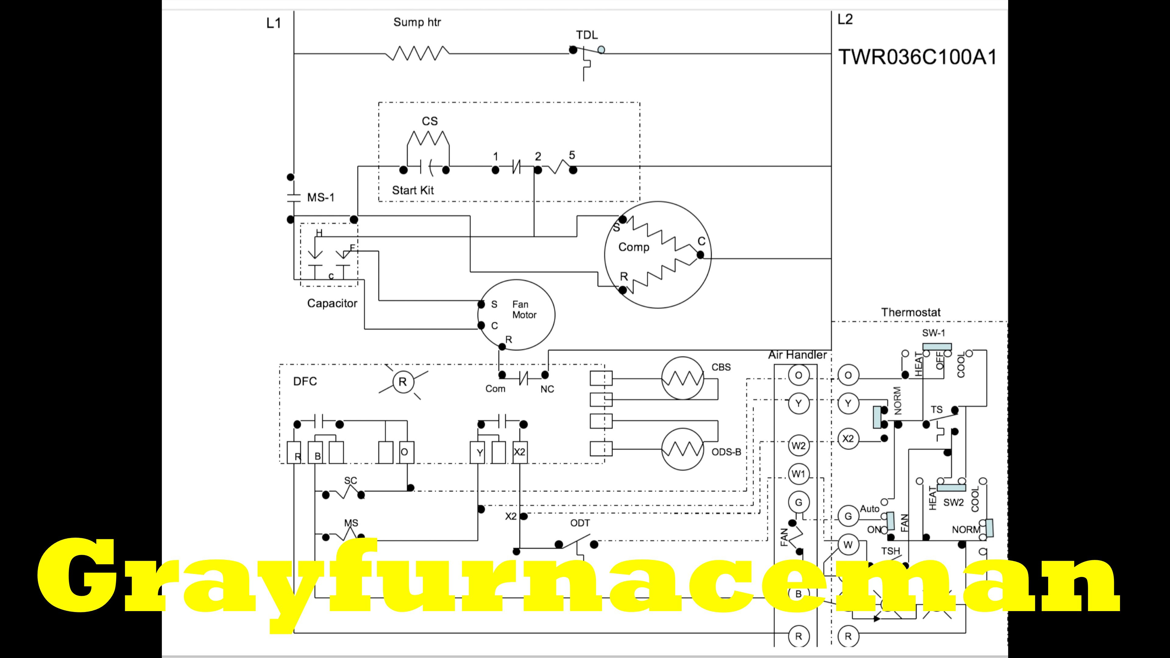 Heat Pump Wiring Diagram For Defrost on