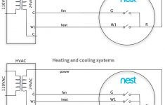 Heat And Cooling Thermostat Wiring Diagrams For Two 3 Nest | Wiring – Nest Thermostat Wiring Diagram Air Conditioner 3 Wire