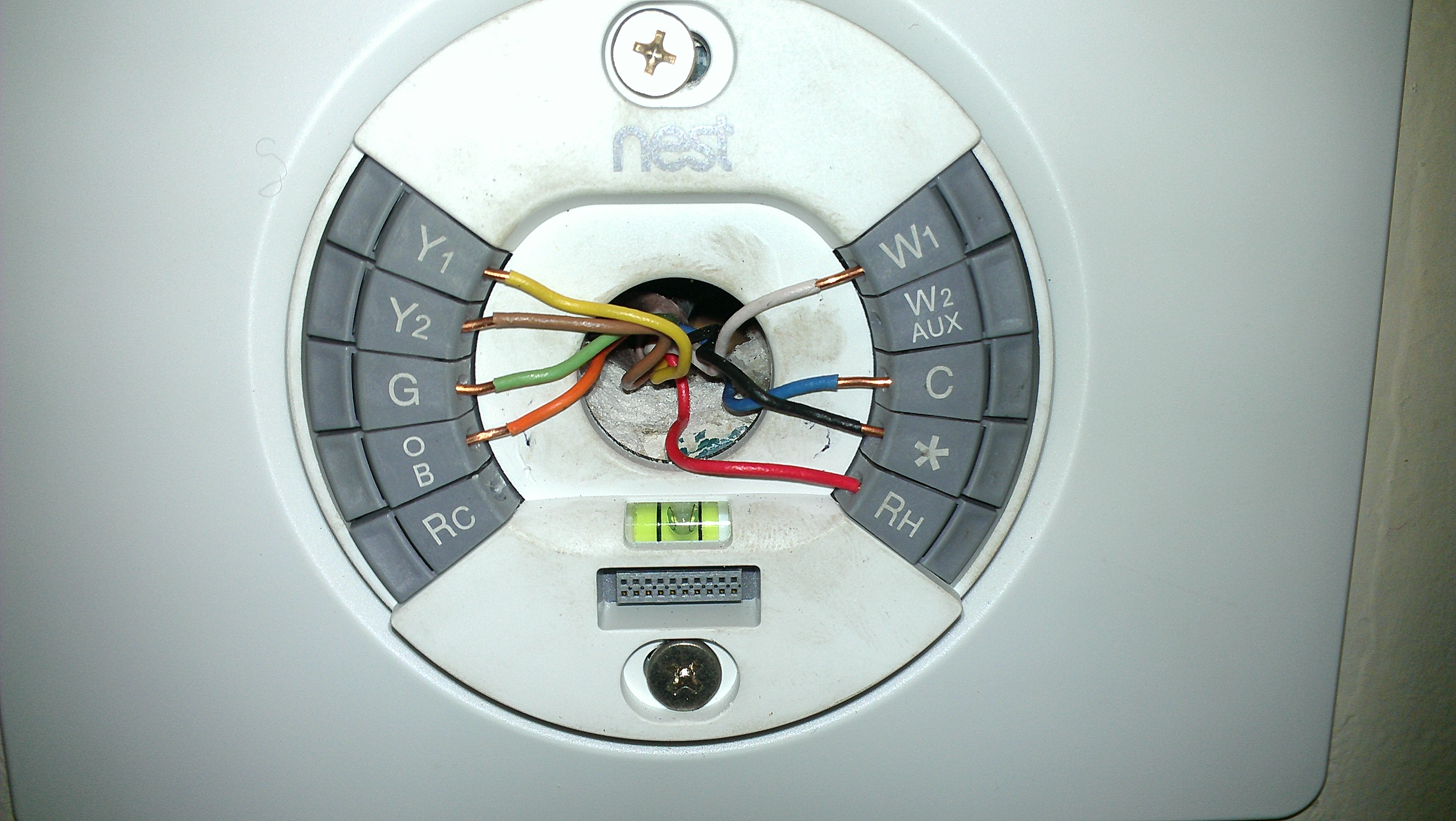 Heat Pump New: Heat Pump Nest - Honeywell Heat Pump Nest Thermostat Wiring Diagram