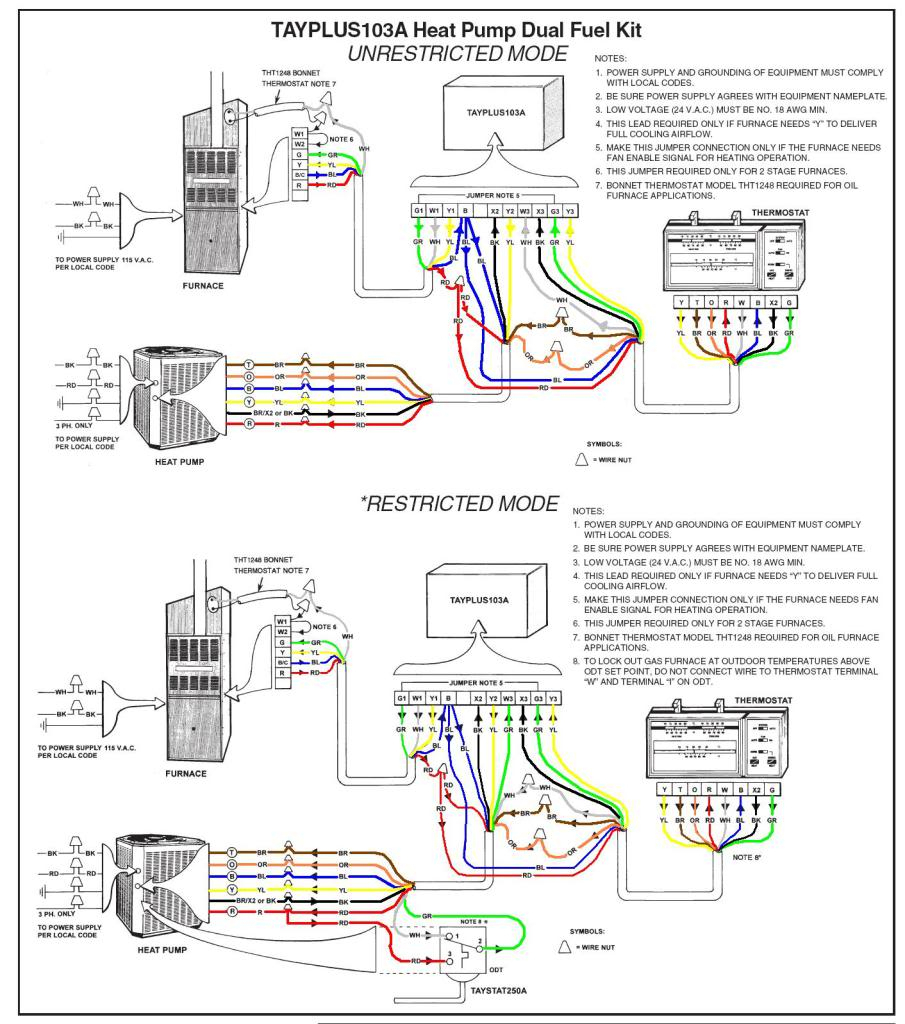 Heat Pump Thermostat 1H 1C Wiring Diagrams | Wiring Diagram - Wiring Diagram For Nest 2 Thermostat With Weather King Heat Pump