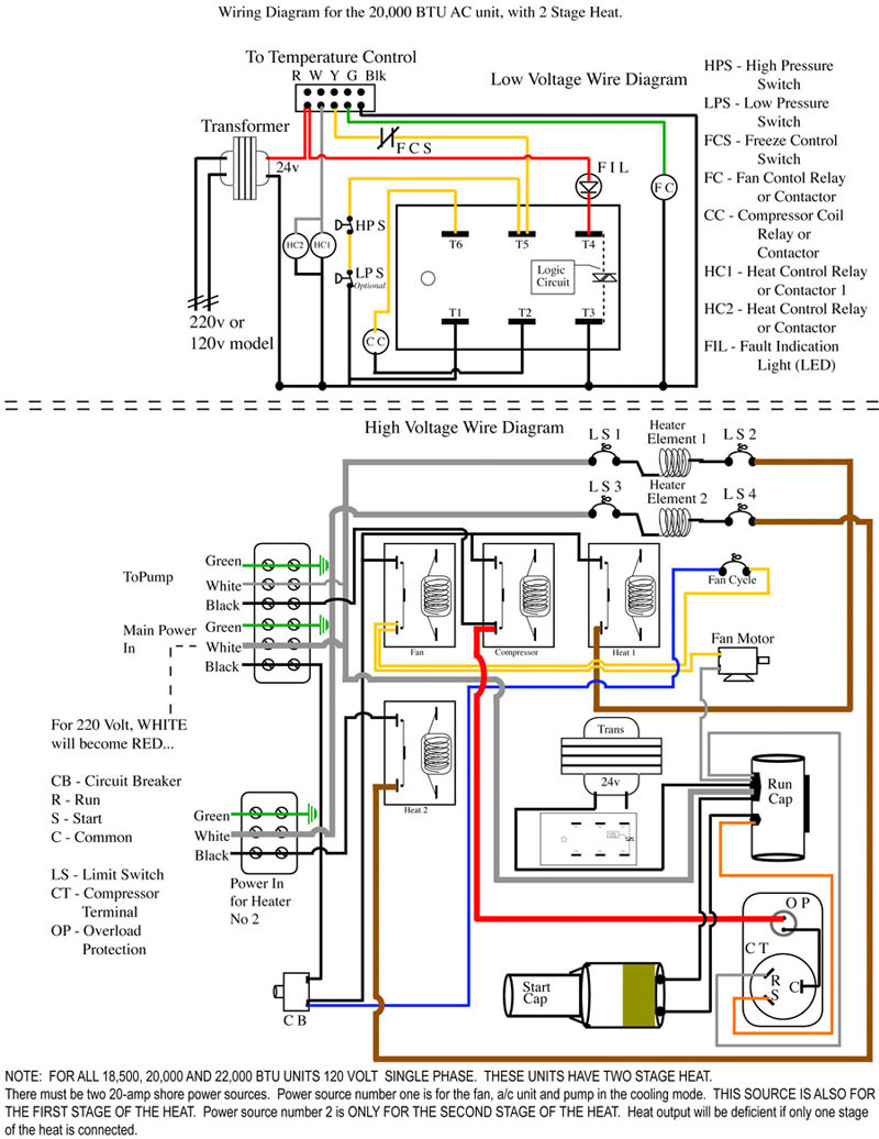 Heat Pump Wiring Diagram For Ac | Manual E-Books - Nest Thermostat Wiring Diagram Heat And Cool Diagram