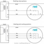 Heat Pump Wiring Diagram For Nest   All Wiring Diagram   Wiring Diagram For Nest 2 Thermostat With Rheem Heat Pump