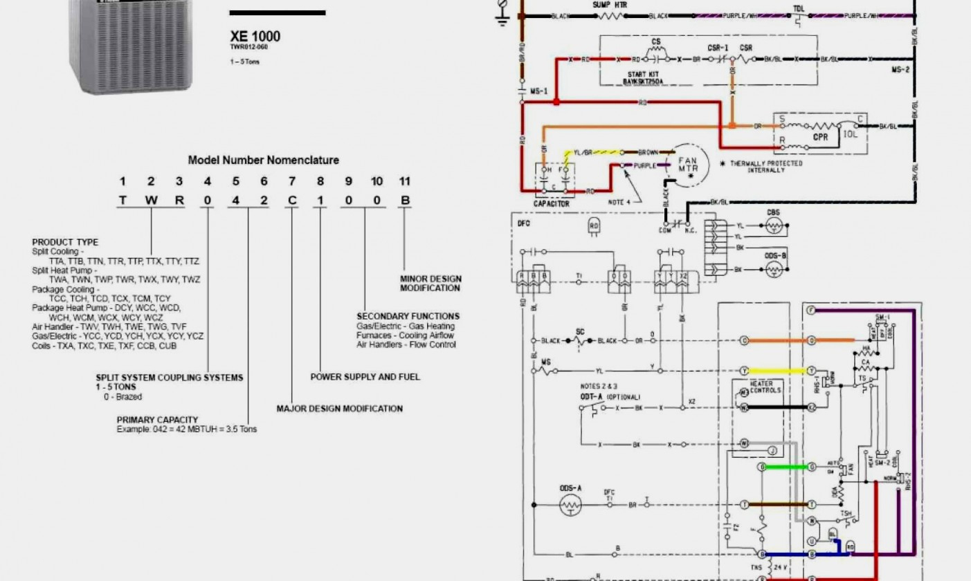 Heat Pump Wiring Diagram View | Wiring Diagram - Nest Thermostat Trane Tam7 2 Stage Wiring Diagram