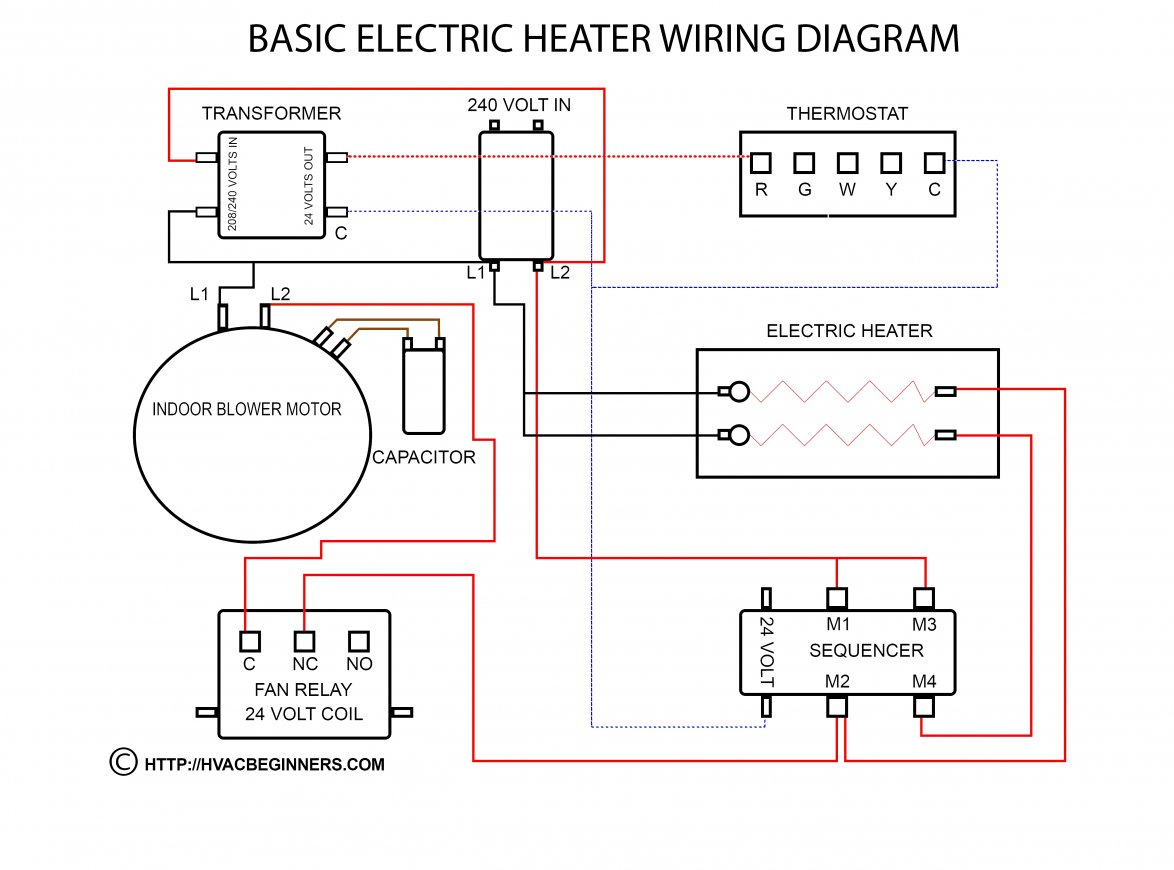 Honeywell Fan Relays Wiring Diagrams