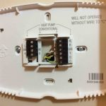 Honeywell Smart Thermostat Wiring Instructions Rth9580Wf | Tom's Tek   Round Nest Thermostat Honeywell Wiring Diagram For Heatpumps With X2 Terminal