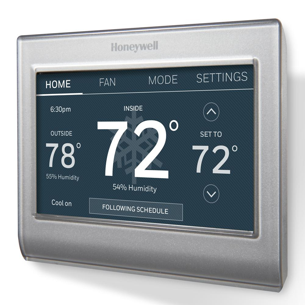 Honeywell - Thermostats - Heating, Venting & Cooling - The Home Depot - Honeywell Th5320C1002 Wiring Diagram Nest