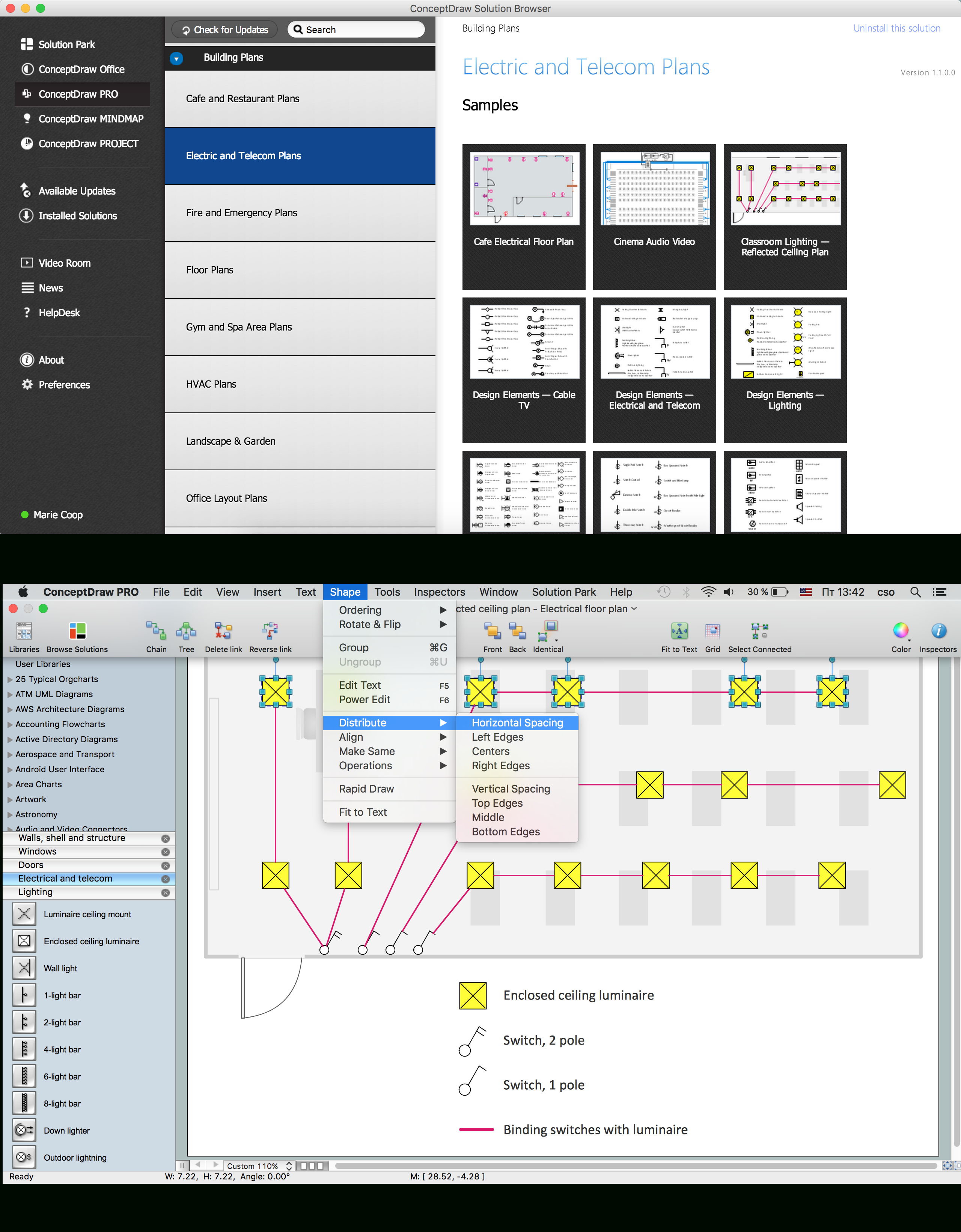 House Electrical Plan Software | Electrical Diagram Software - Nest Wheres My Custom Wiring Diagram