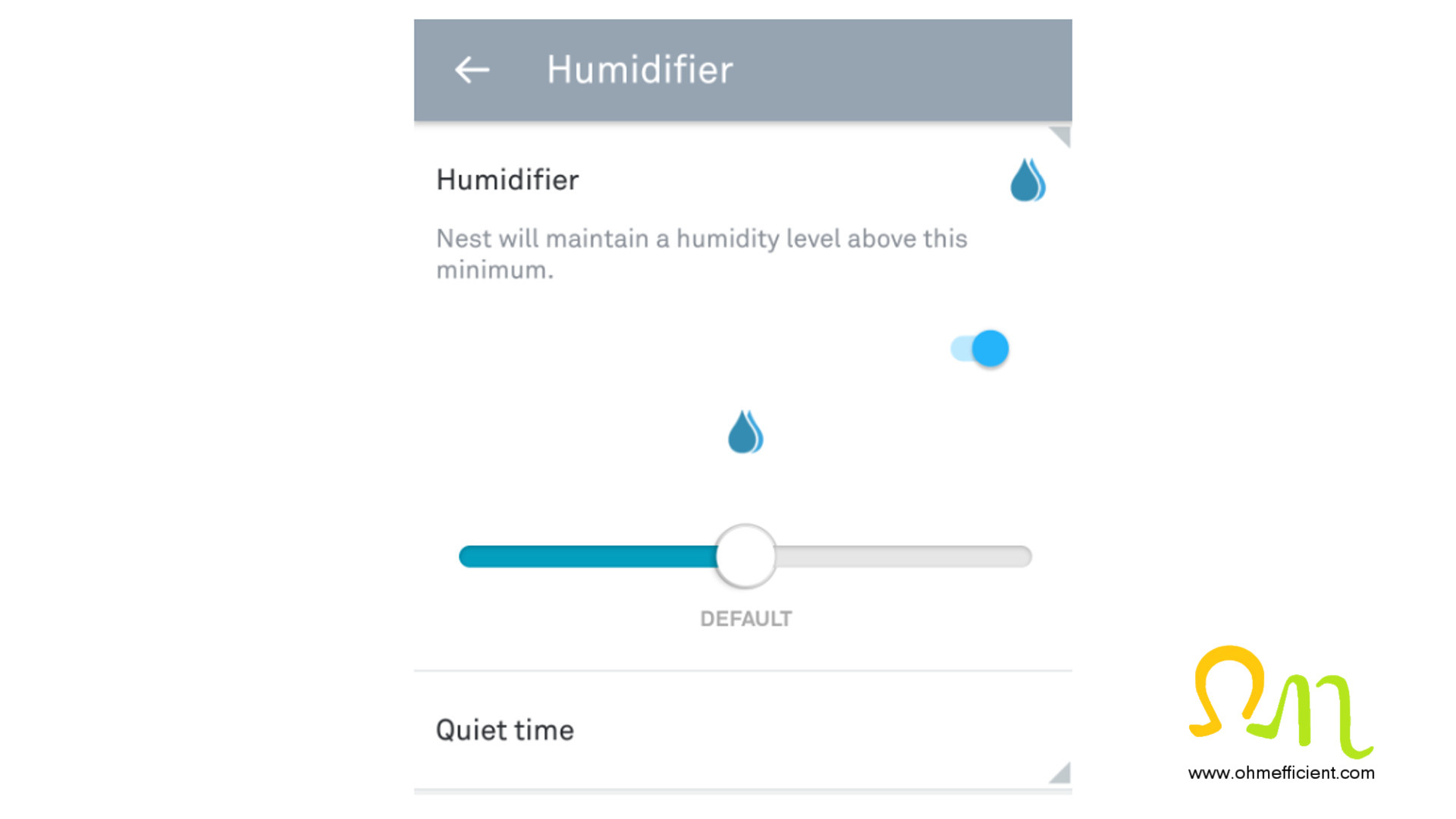How To Connect & Setup A Nest Thermostat To Function As A Humidistat - Nest Humidifier Wiring Diagram