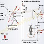 How To Install A Hardwired Smoke Alarm   Ac Power And Alarm Wiring   Nest Smoke Detector Wiring Diagram