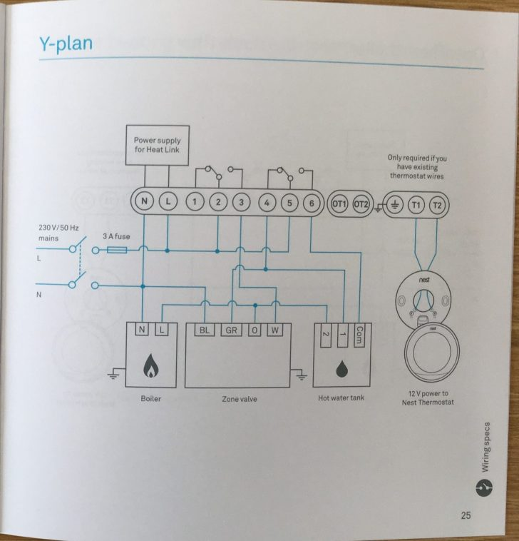 Nest Thermostat Internal Wiring Diagram