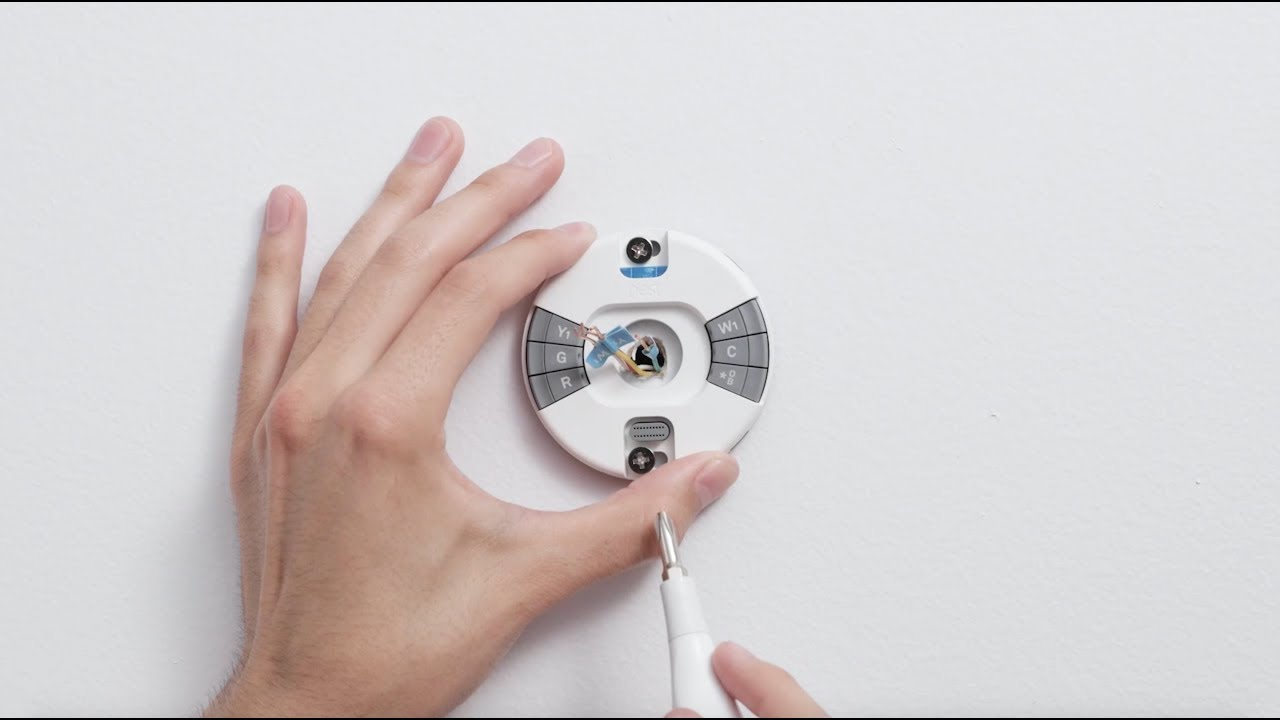 How To Install The Nest Thermostat E - Youtube - Nest E Wiring Diagram