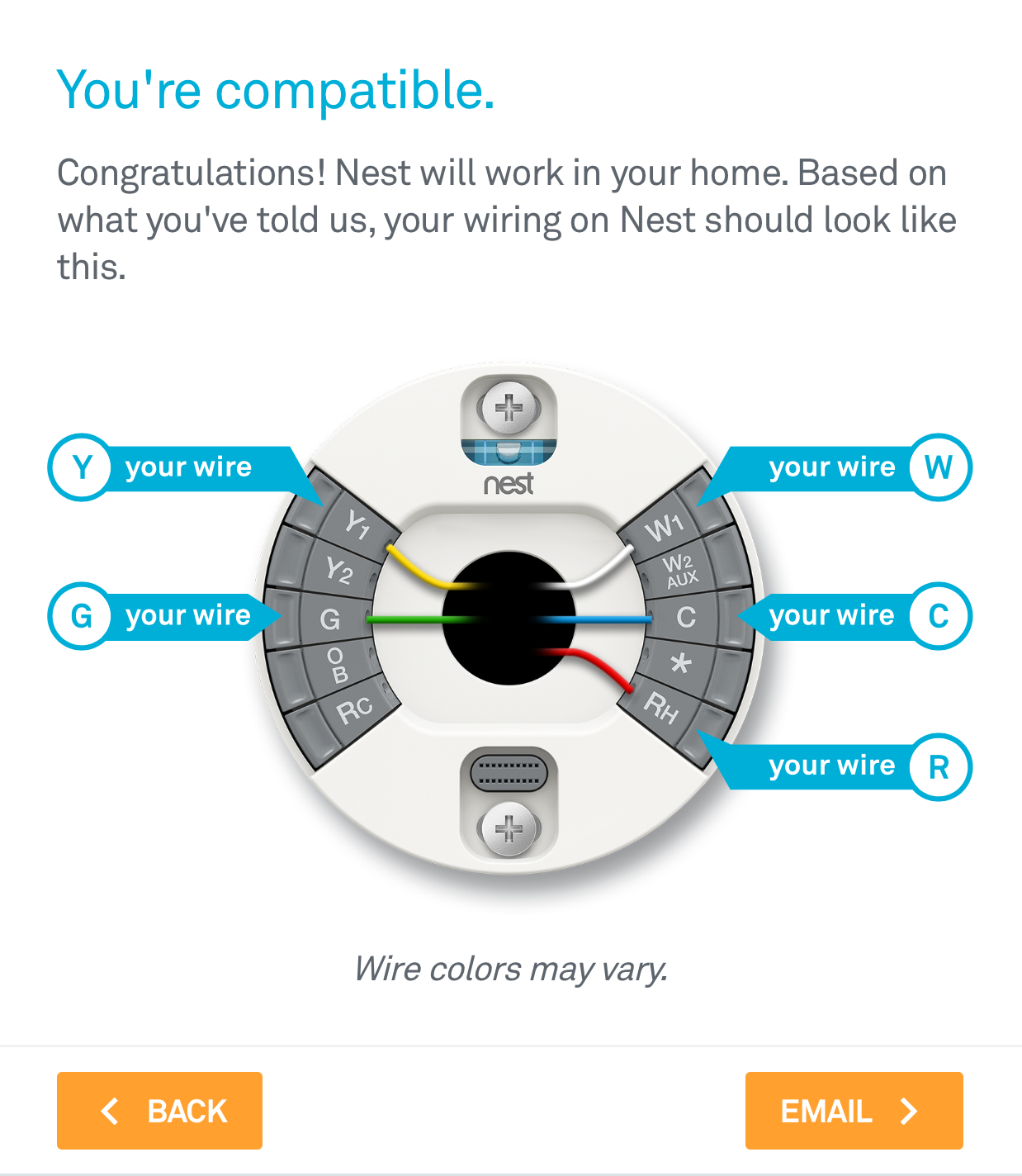 How To: Install The Nest Thermostat | The Craftsman Blog - Standard Nest Wiring Diagram