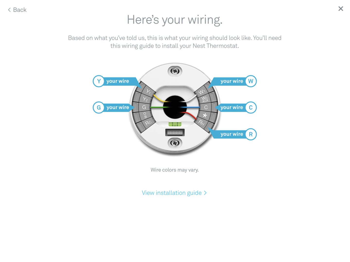 How To Install Your Nest Thermostat - Howchoo - Check Your Nest Thermostat Wiring Diagram