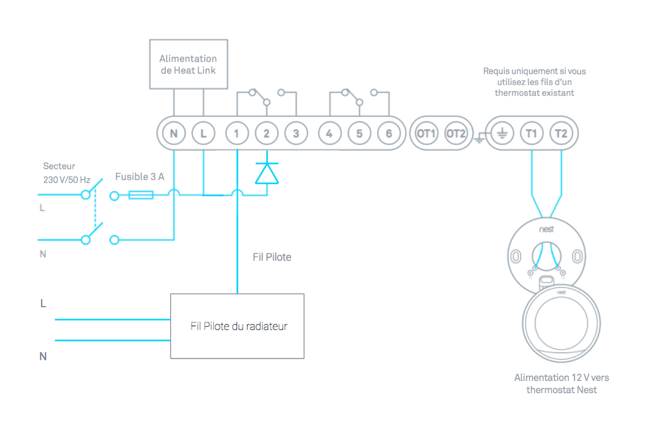 How To Install Your Nest Thermostat - Nest 2Nd Generation Wiring Diagram Uk