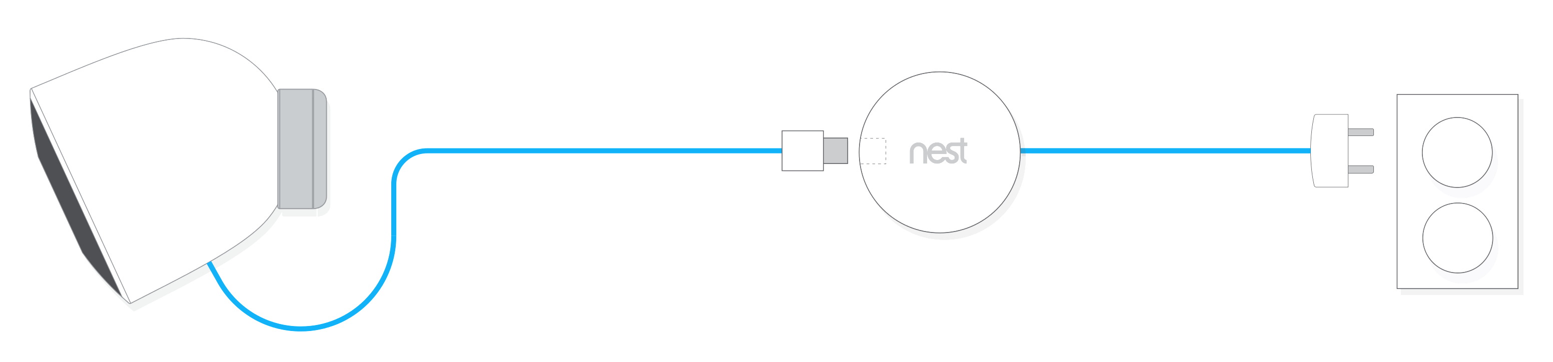 How To Install Your Outdoor Nest Cam - Nest Wiring Diagram Blue Wire