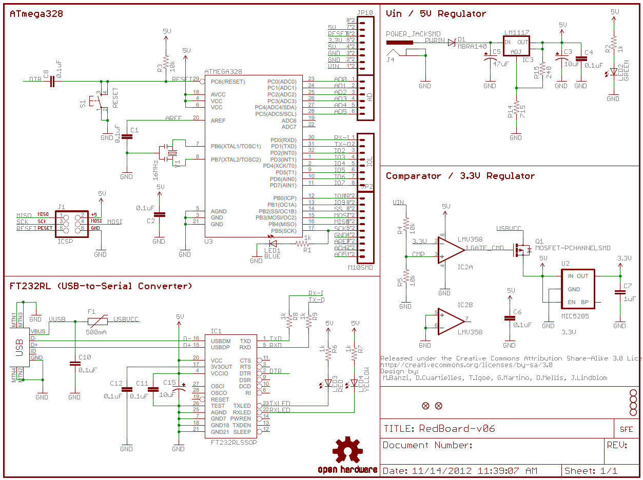 How To Read A Schematic - Learn.sparkfun - Nest Wheres My Custom Wiring Diagram