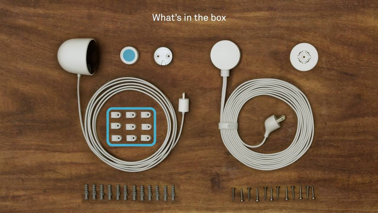 How To Set Up And Install Nest Cam Outdoor - Youtube - Nest Cam Indoor Wiring Diagram