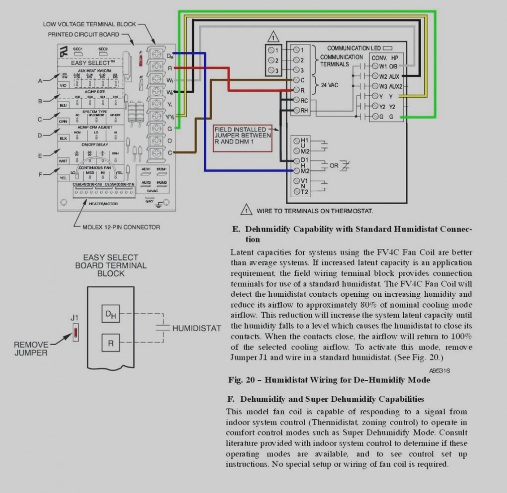 Humidistat Control Wiring Diagram | Wiring Diagram - Nest Thermostat Dehumidify Wiring Diagram
