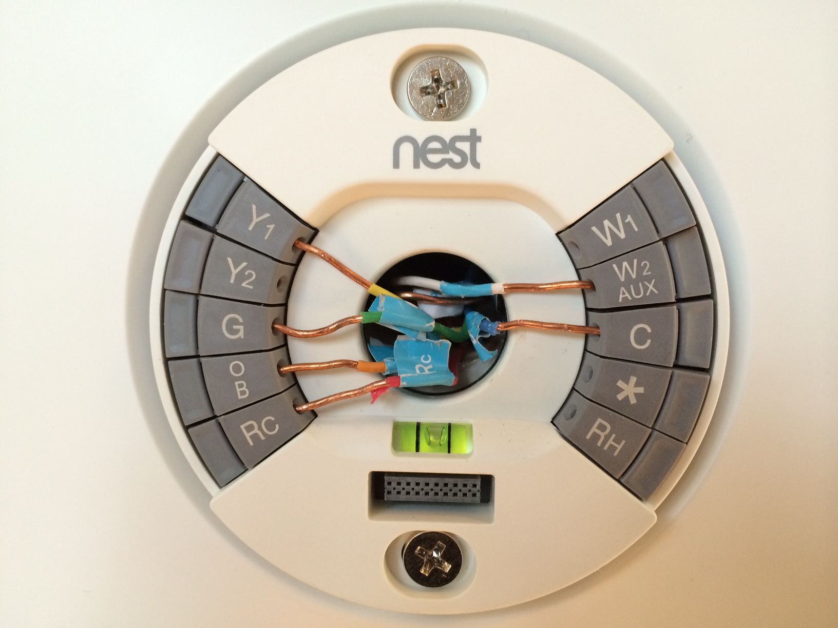 Hydronic Heating: Nest Thermostat Hydronic Heating - Nest Wiring Diagram For Trane Airconditioner