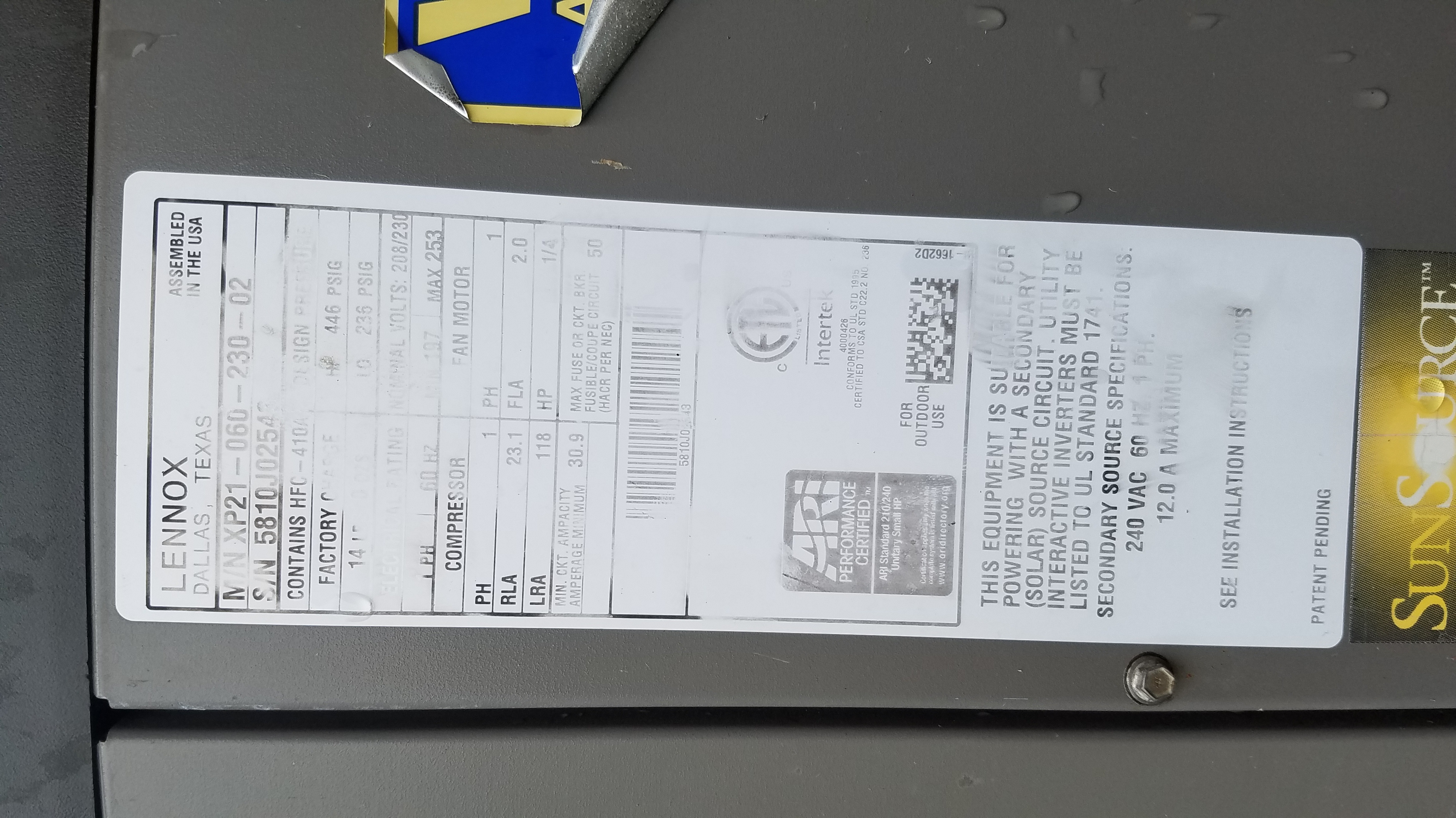 I Am Sure You Get This Question A Lot. I Am Changing Out My I - Lennox Xp21 Nest Wiring Diagram