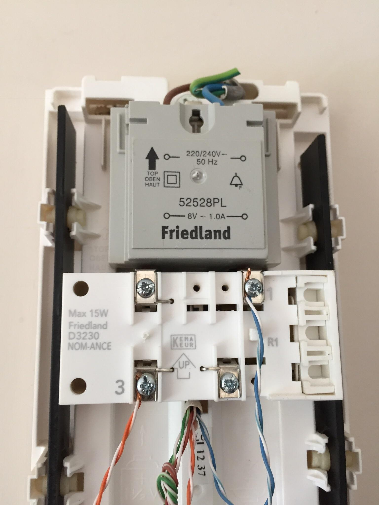 Installing Nest Hello Uk - What Are My Options With The Following - Nest Hello Wiring Diagram 4 Wire
