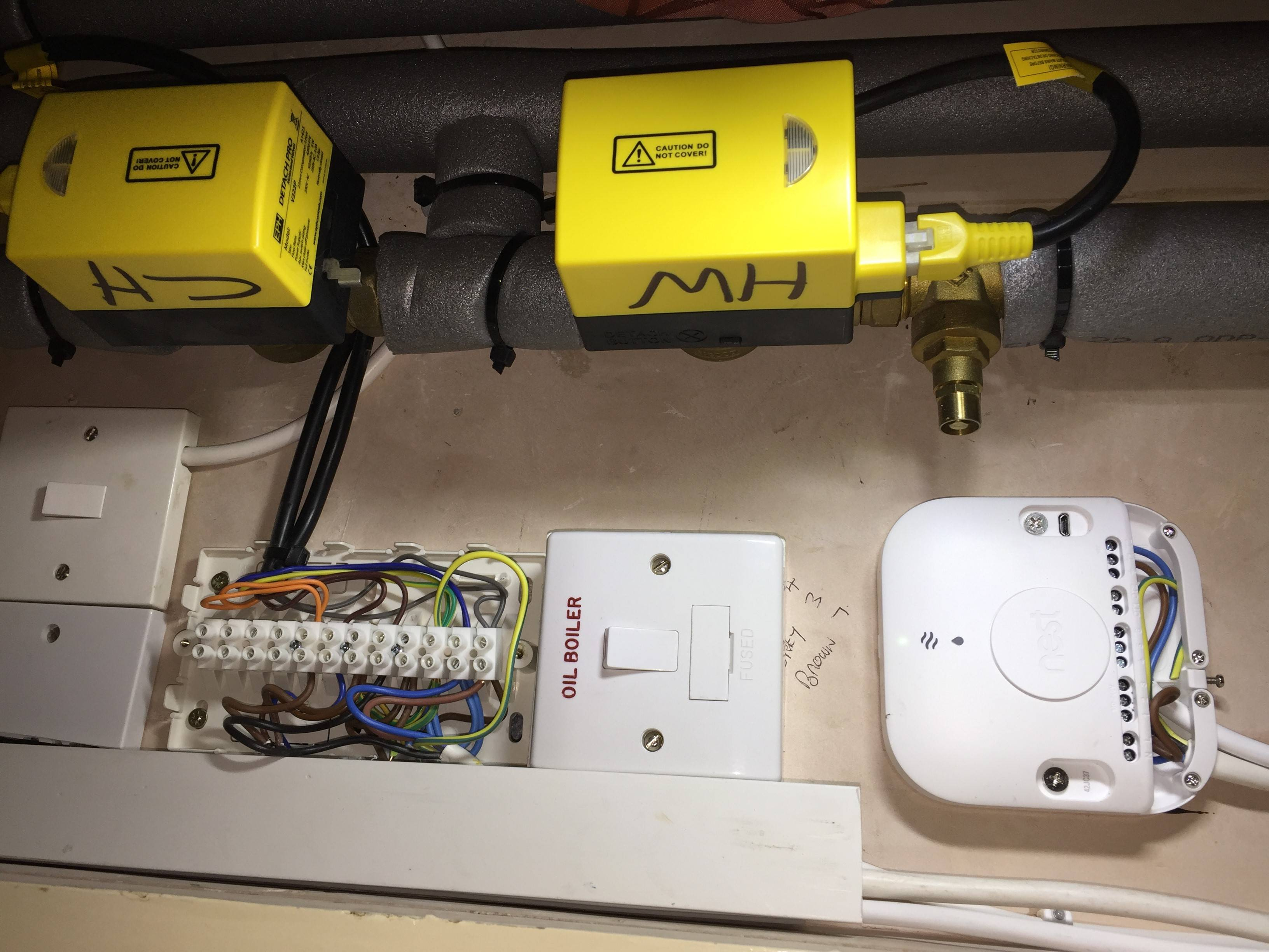 Nest 3Rd Generation Uk Install Terminals 4, 5 And 6 Are Used To - Nest Wiring Diagram 5 Wire