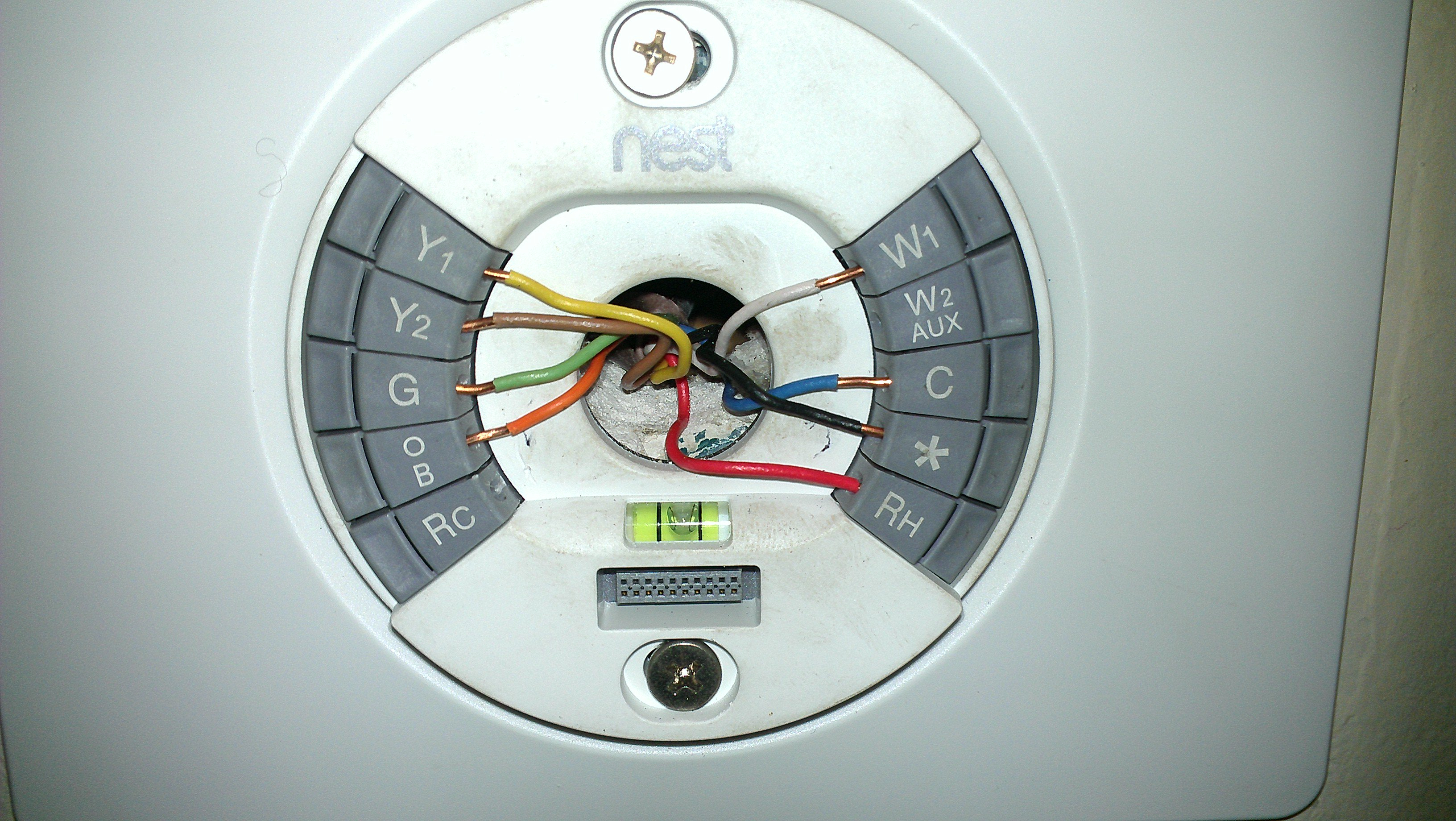 Trane Thermostat Wiring Color Code