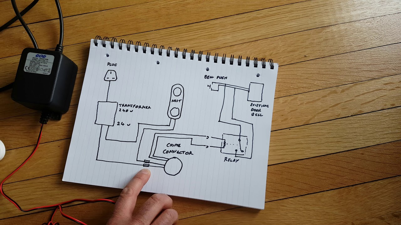 Nest Hello Advanced Wiring Diagram - Youtube - Wiring Diagram For Nest Doorbell