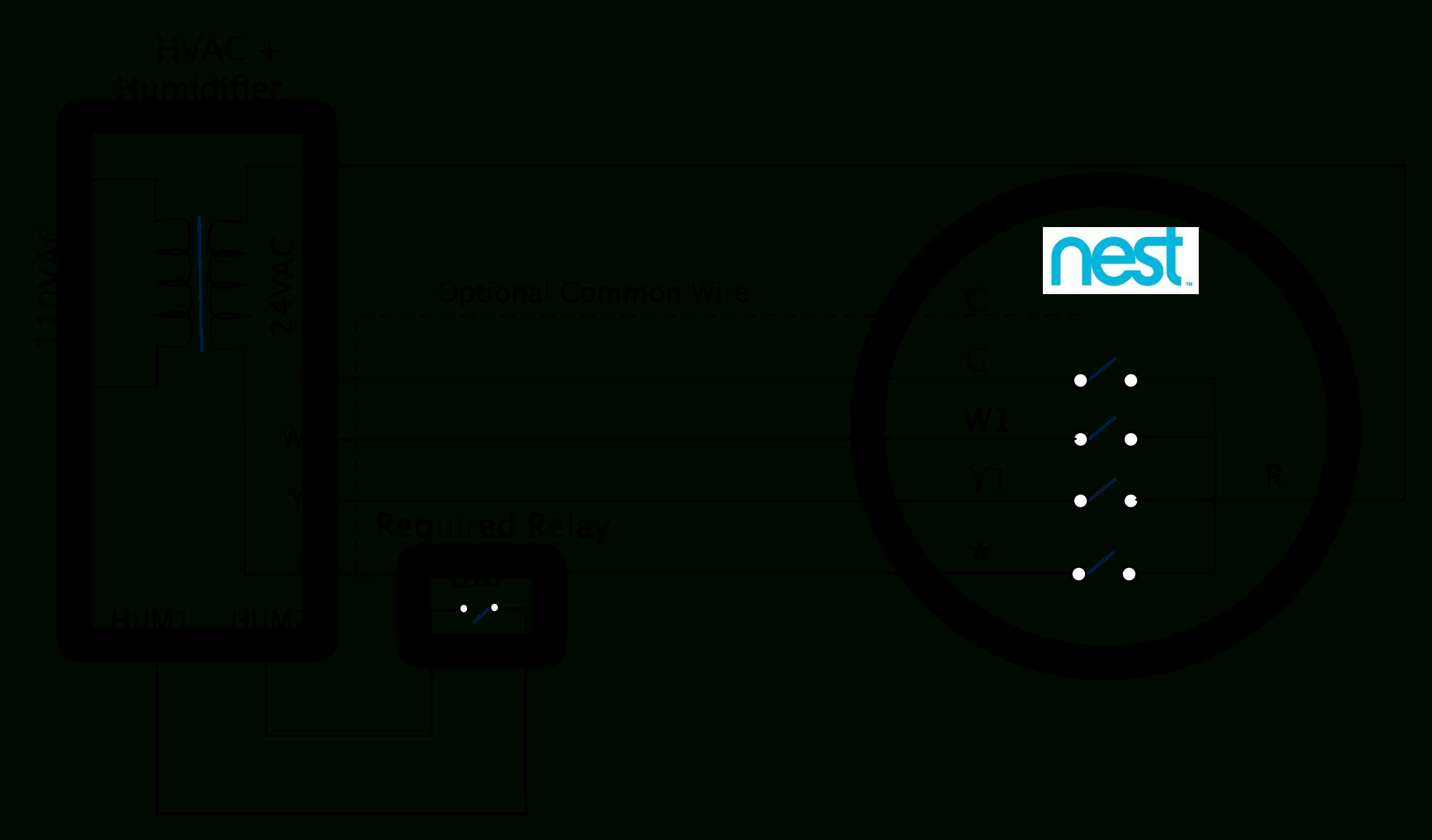 Nest Learning Thermostat Advanced Installation And Setup Help For - Lennox Nest Wiring Diagram