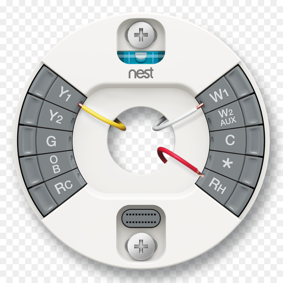 Nest Learning Thermostat Nest Labs Smart Thermostat Wire - Nest Png - Nest Smart Thermostat Wiring Diagram