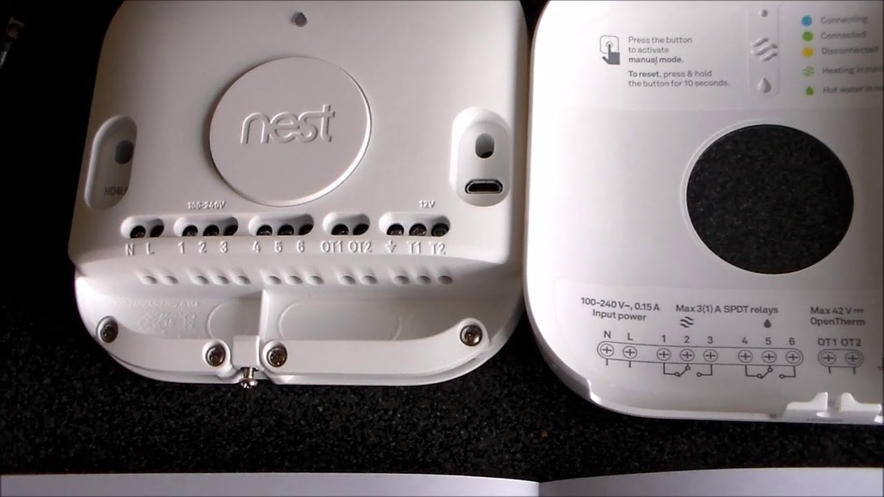 Nest Smart Thermostat Worcester Bosch Combi Installation - Youtube - Nest Wiring Diagram For Worcester