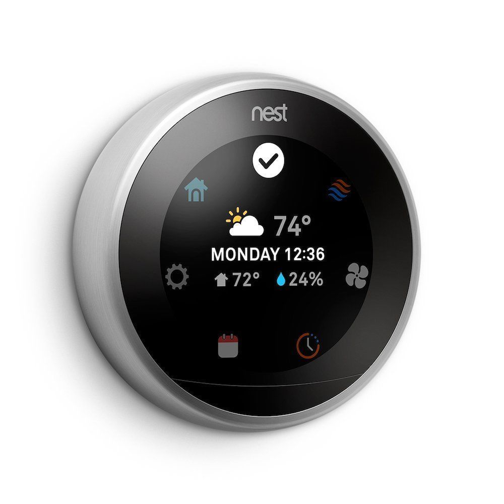 Nest T3016Us 3Rd Generation Learning Programmable Thermostat - Black - Wiring Diagram Nest A0013 Black