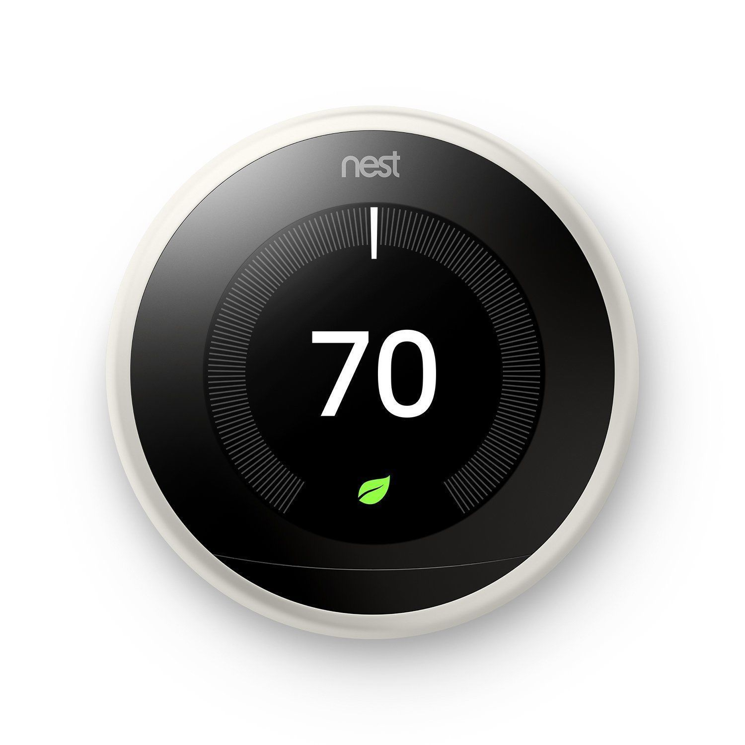 Nest T3016Us 3Rd Generation Learning Programmable Thermostat - Black - Wiring Diagram Nest A0013 Black Thermostat