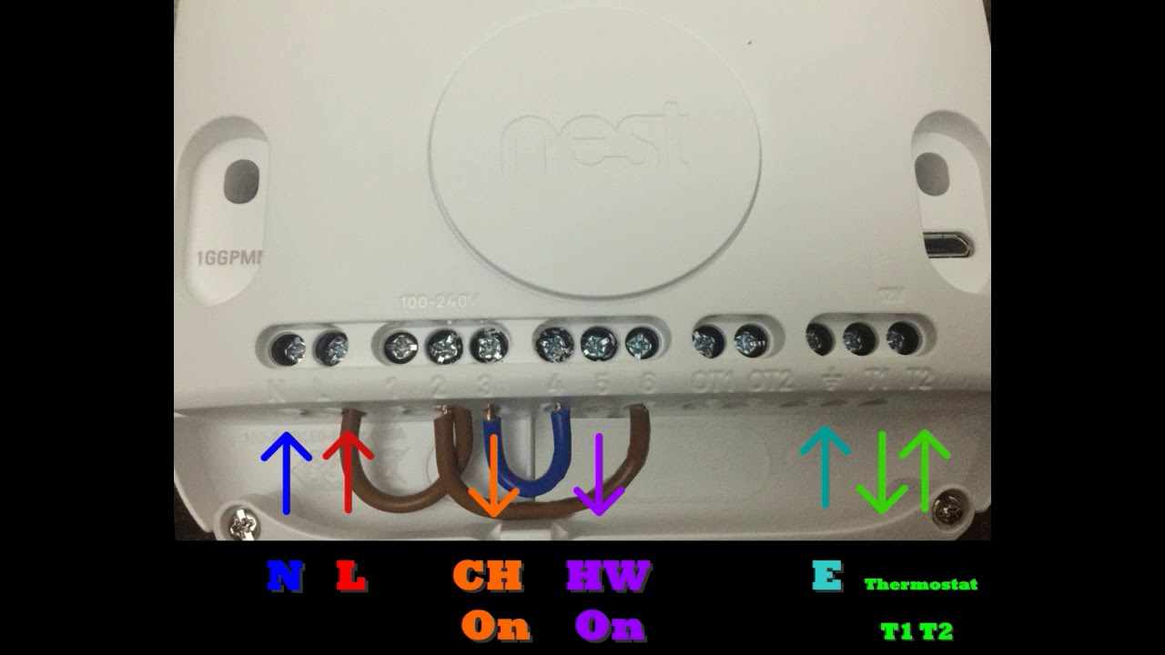 Nest Thermostat Wiring Diagram To Old Heater
